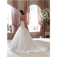 David Tutera for Mon Cheri Spring 2014 - Style 114282 Ivy - Elegant Wedding Dresses|Charming Gowns 2