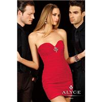 Red Alyce Paris Homecoming 4387 - Brand Wedding Store Online