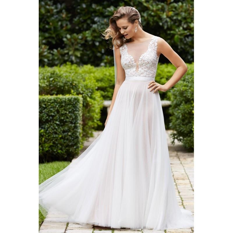 My Stuff, Wtoo by Watters Marnie 14715 Soft A-Line Wedding Dress - Crazy Sale Bridal Dresses|Special