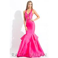 Rachel Allan Princess 2092 Dress - Prom Long Rachel Allan Halter, Sweetheart Trumpet Skirt Dress - 2
