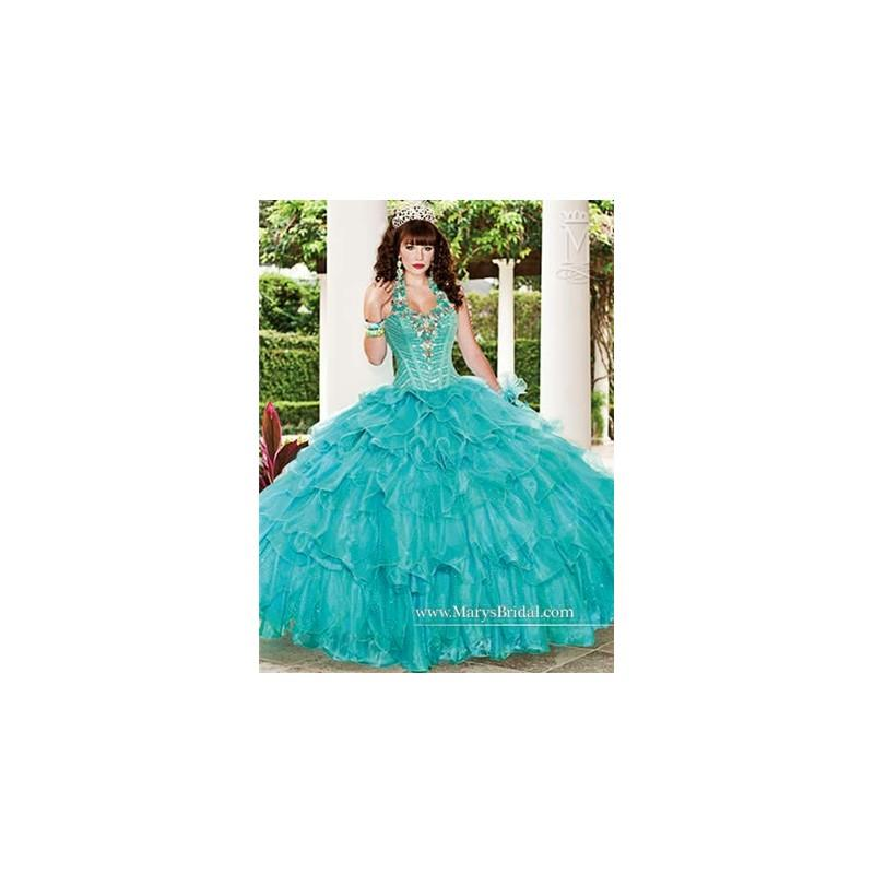 My Stuff, Marys Bridal Quinceanera Quinceanera Dress Style No. 4Q975 - Brand Wedding Dresses|Beaded