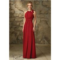Morilee 20463 Halter Chiffon Bridesmaid Dress - Crazy Sale Bridal Dresses|Special Wedding Dresses|Un