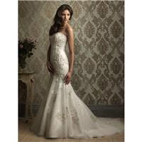 Allure Bridals 8870 Vintage Lace Wedding Dress - Crazy Sale Bridal Dresses|Special Wedding Dresses|U