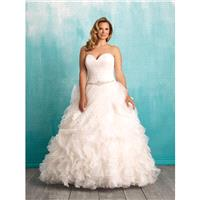 Allure Bridal Women Size Colleciton W374 - Branded Bridal Gowns|Designer Wedding Dresses|Little Flow