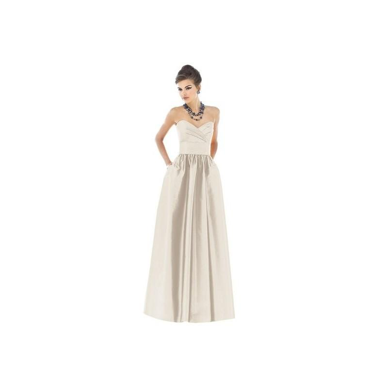 wedding, Alfred Sung by Dessy D541 Long Strapless Bridesmaid Dress - Crazy Sale Bridal Dresses|Speci