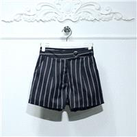 Must-have Solid Color Stripped Short - Lafannie Fashion Shop
