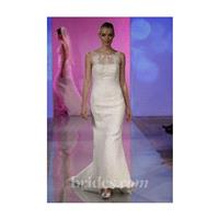 Robert Bullock Bride - Spring 2013 - Bree Sleeveless Satin Mermaid Wedding Dress with a Lace Appliqu