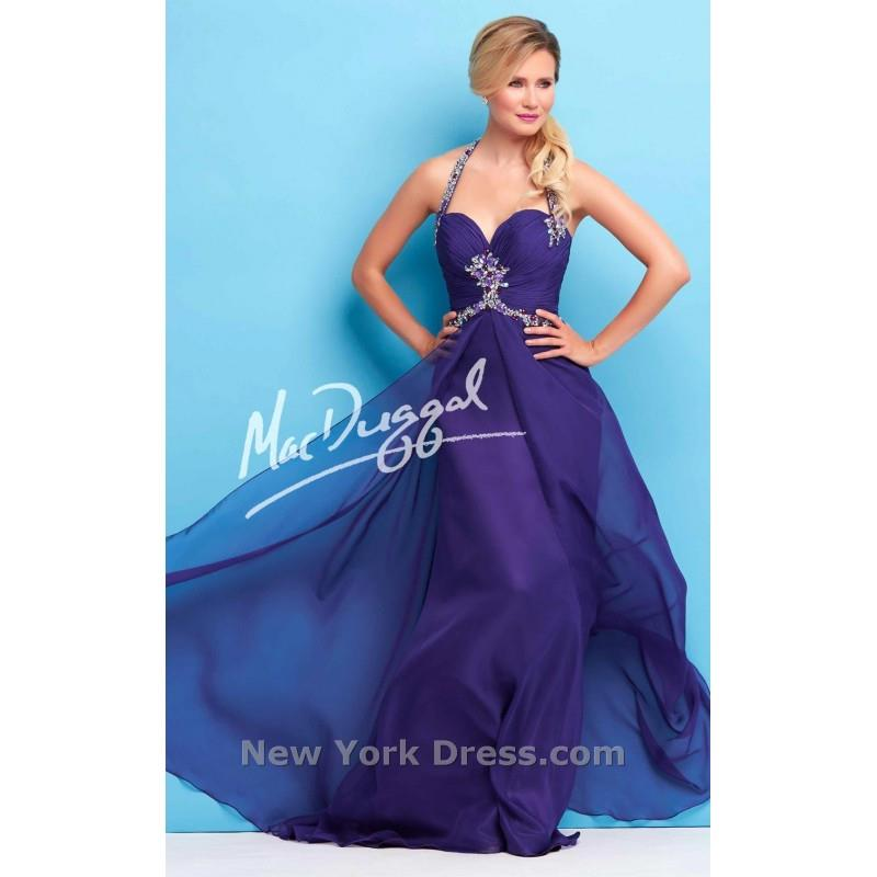 My Stuff, Mac Duggal 65113L - Charming Wedding Party Dresses|Unique Celebrity Dresses|Gowns for Brid