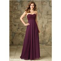 Morilee Bridesmaids 107 Strapless Chiffon and Lace Dress - Crazy Sale Bridal Dresses|Special Wedding