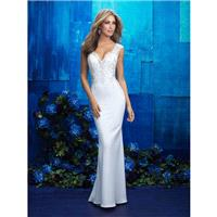 Allure Bridals 9417 - Branded Bridal Gowns|Designer Wedding Dresses|Little Flower Dresses