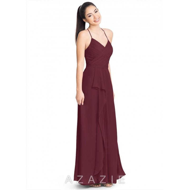 My Stuff, Cabernet Azazie Dawn - Simple Bridesmaid Dresses & Easy Wedding Dresses