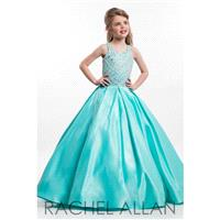 Aqua Mint Rachel Allan Perfect Angels 1634 Rachel Allan Perfect Angel - Rich Your Wedding Day