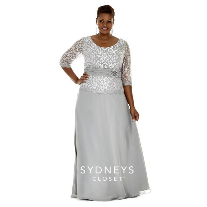 My Stuff, Sydneys Closet SC4020 Plus Size Mother of the Bride Gown - Brand Prom Dresses|Beaded Eveni