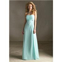 Mori Lee Bridesmaids 686 Empire Waist Chiffon Dress - Crazy Sale Bridal Dresses|Special Wedding Dres
