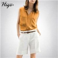 Vogue Attractive Chiffon Summer Casual Short Sleeves Outfit Twinset Short - Bonny YZOZO Boutique Sto