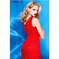 Shailk FALL HOLIDAY 2015   Style 3657 RED -  Designer Wedding Dresses|Compelling Evening Dresses|Col