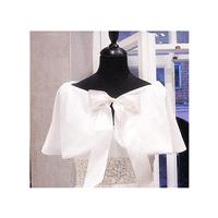 Bridal Party shawl Faux Fur Capelet Bride's Cape Winter Wedding Coat Available in Winter white or Iv