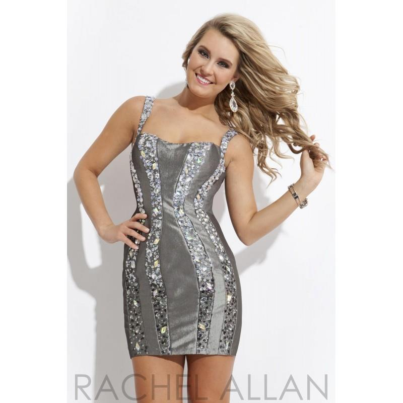 My Stuff, Gunmetal Rachel Allan Homecoming 6742 Rachel Allan Homecoming - Rich Your Wedding Day
