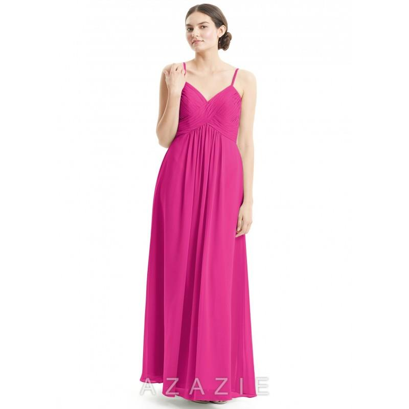 My Stuff, Fuchsia Azazie Shannon - Simple Bridesmaid Dresses & Easy Wedding Dresses