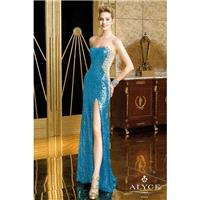 Turquoise Only Alyce Prom 6211 Alyce Paris Prom - Rich Your Wedding Day