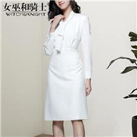 Vogue Simple Attractive Slimming Spring 9/10 Sleeves Midi Dress Dress - Bonny YZOZO Boutique Store
