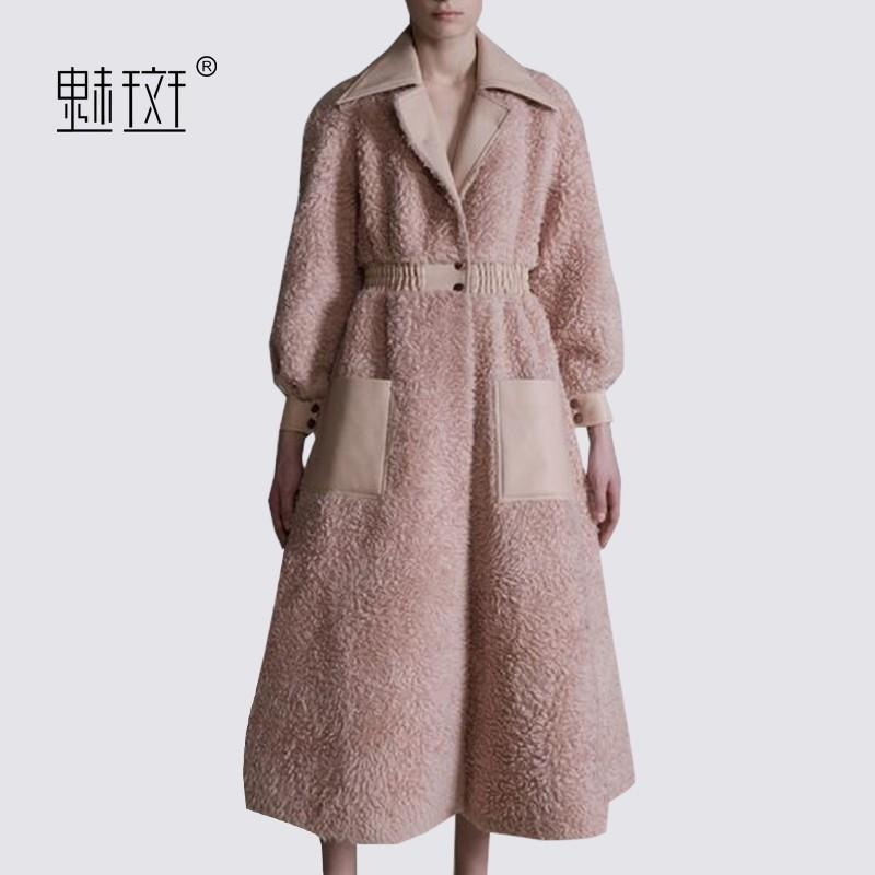 My Stuff, Slimming High Waisted Suit Tie Overcoat Coat - Bonny YZOZO Boutique Store