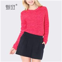 2017 with the new temperament t toe plus size ladies ' cashmere sweaters women's sweaters - Bonny YZ