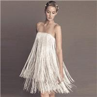 Attractive Fringe Slimming Plus Size A-line Sleeveless Strappy Top Dress Skirt - Bonny YZOZO Boutiqu