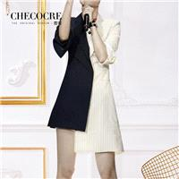 Asymmetrical Split Front Solid Color Slimming Edgy Stripped Dress Suit Coat - Bonny YZOZO Boutique S