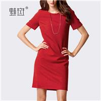 Office Wear Attractive Slimming Summer Short Sleeves Dress - Bonny YZOZO Boutique Store