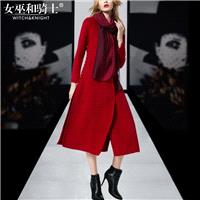 Winter clothing women's new double-sided coat slim fashion v-neck long cashmere coat wool coat - Bon