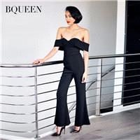 Grade a neck strapless tube top women's 2017 and early fall connected speakers slacks H2295 - Bonny
