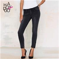 Must-have Slimming Low Rise Trendy Tight Skinny Jean Casual Trouser - Bonny YZOZO Boutique Store