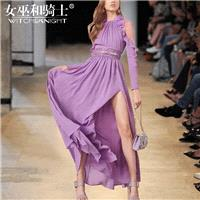 Vogue Attractive Slimming Off-the-Shoulder Chiffon It Girl Summer Dress - Bonny YZOZO Boutique Store