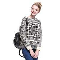 Must-have Oversized Vogue Fringe Knitted Sweater Sweater - Bonny YZOZO Boutique Store